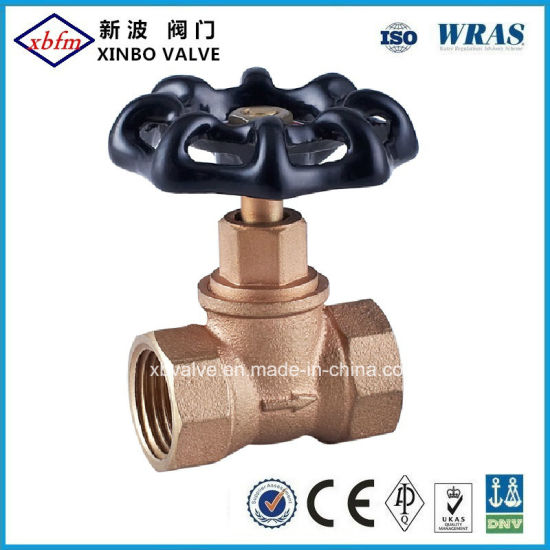 CSA Approved Bronze Stop Valve pictures & photos