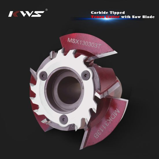 Tct Carbide Tenon Cutter with Saw Blade pictures & photos