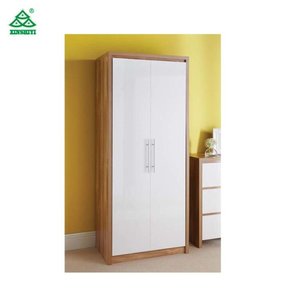 Clothes Storage Cabinet 2 Doors Modern Style Wardrobe for Sale  sc 1 st  JiangXi ShiYi Furniture Co. Ltd. & China Clothes Storage Cabinet 2 Doors Modern Style Wardrobe for Sale ...