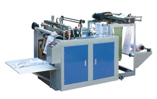 Computer Heat-Sealing Heat Cutting T Shirt Shopping Bag Making Machine