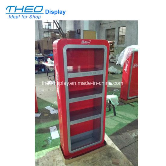 China Metal Beverage And Beer Display Shelf Display Rack Display Amazing Market Display Stands