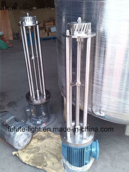 Movable Lifting Batch High Shear Homogenizer pictures & photos