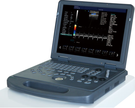 PT-C60 Color Doppler; Portable 3D Color Doppler, Ultrasound System 2D with Cheaper Price pictures & photos