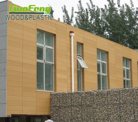 Waterproof Exterior Wall Panels Building Material WPC Wall Cladding