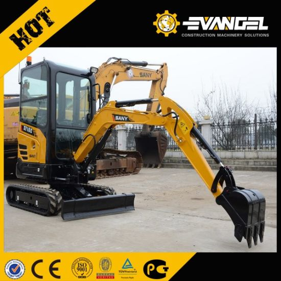 1.6ton Mini Sany Hydraulic Digger Machine Sy16c pictures & photos