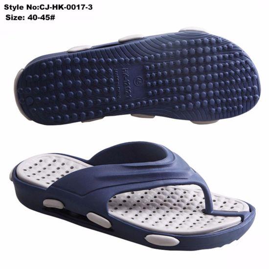 65604b888 China Anti Slip and Breathable Men EVA Latest Style Flip Flop ...