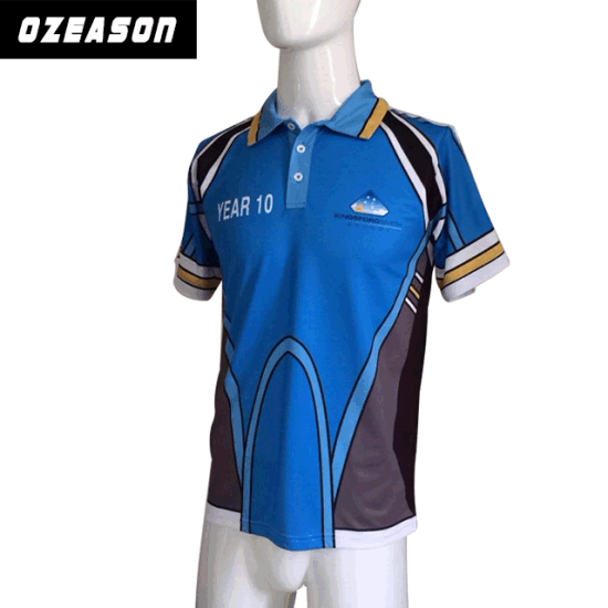 d9fcc60f5 Wholesale Dry Fit Men Sublimated Polo Professional Golf Polo Shirts  pictures & photos