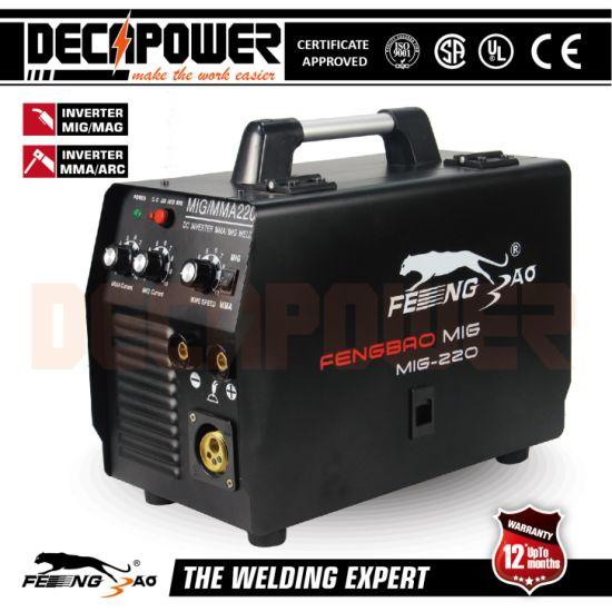CO2 Gas/Gasless Welding Machine Portable Inverter MMA/Mag/MIG Welder