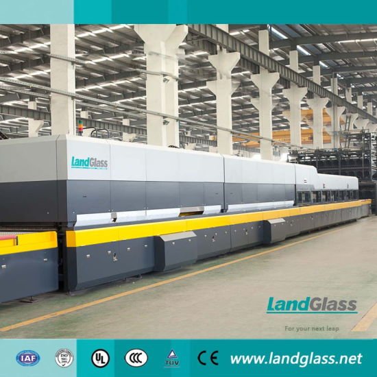Landglass Flat and Bending Jet Convection Glass Tempering Furnace for Sale pictures & photos
