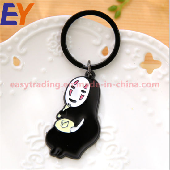 Black Any Design Metal Keychain for Famous Film pictures & photos
