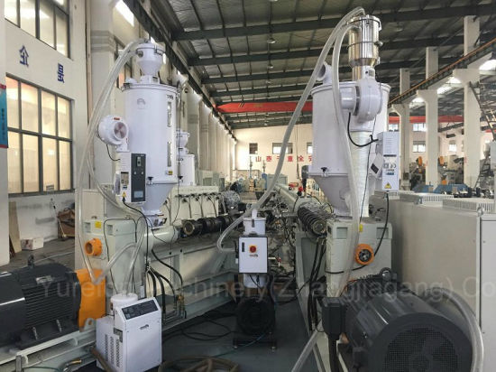 Plastic 3 Three or Multi Layers PPR Glass Fiber Reinforced Hot Water Composite Pipe Extrusion Production Line pictures & photos
