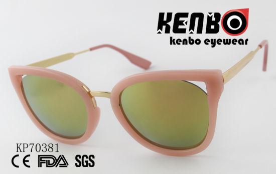 1b74619dcd46 China Cat Eye Sunglasses with Water Drop Shape Lens Kp70381 - China ...