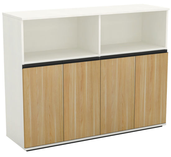 Office Storage Filing Wooden File Cabinet Bookcases With Doors Lock