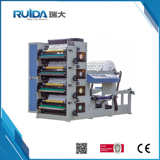 4 Color Flexo Printing Machine for Paper Cup