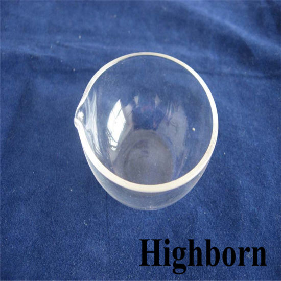 Transparent Customized Silica Glass Evaporating Dish pictures & photos