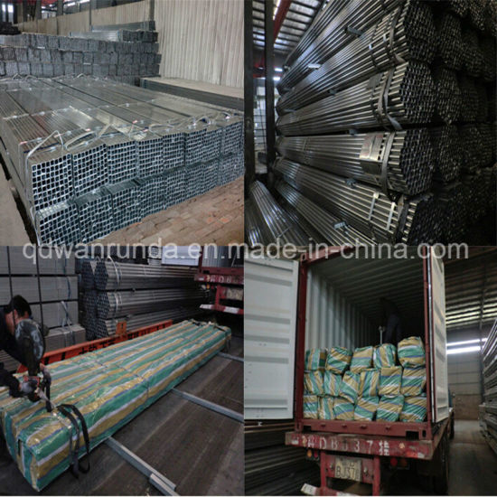 20X20mm Galvanized Steel Pipe for Making Furniture pictures & photos