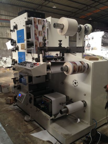 Flexo Printing Machine 4 Color High Speed pictures & photos