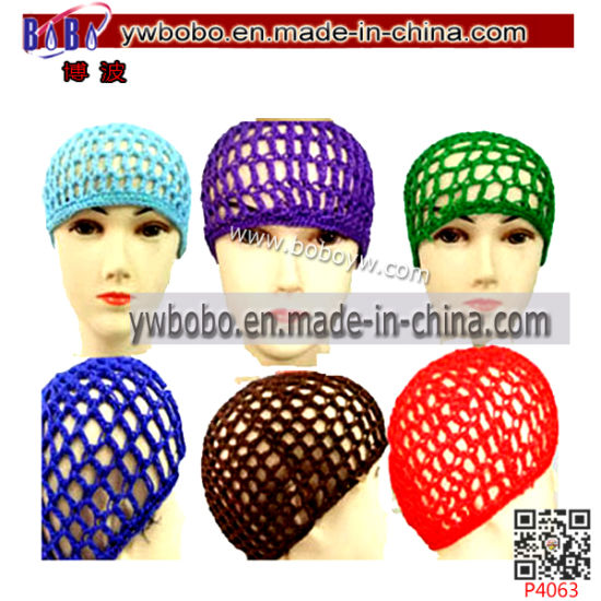Work Cap Hair Decoration Crochet Hair Snood Hair Jewelry Yiwu Market (P4063) pictures & photos