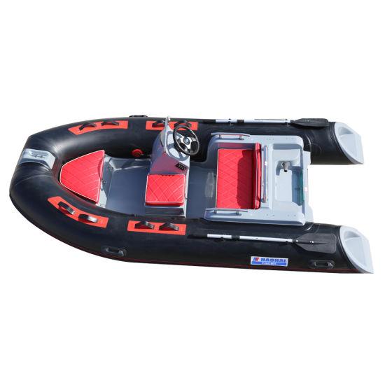 12FT Inflatable Kayak Boat Fishing Tender Poonton Inflatable Canoe Boats