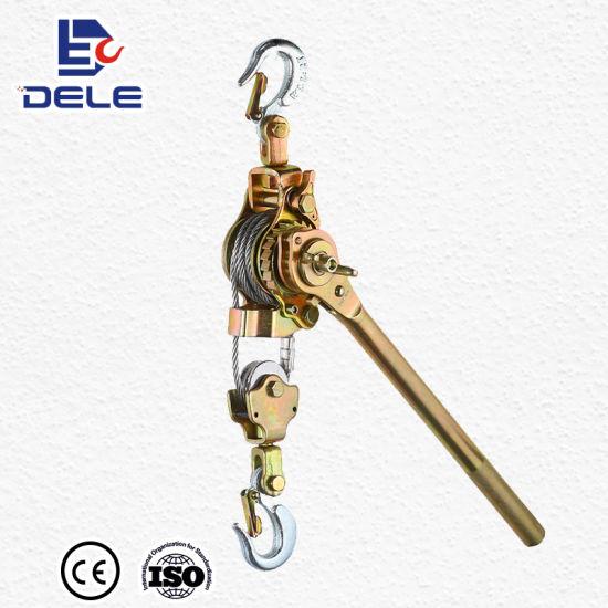 China Supply Lever Hoist Wire Rope Pulling Hoist - China Lever Hoist ...