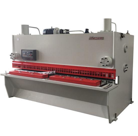 QC11y Sheet Metal Plate CNC Hydraulic Swing Beam or Guillotine Cutting Mechanical Shearing Machine