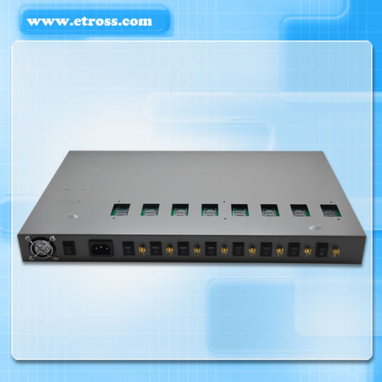Perfect 8 Ports GSM FWT/GSM Fixed Wireless Terminal/Gateway with IMEI Changeable pictures & photos