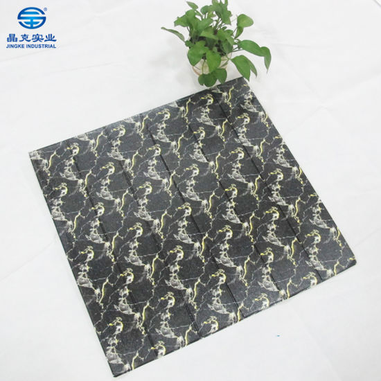 china competitive price wall sticker 3d pe foam brick wall paper