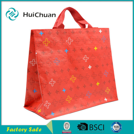 Custom Print Promotion Shopping PP Woven Bag pictures & photos
