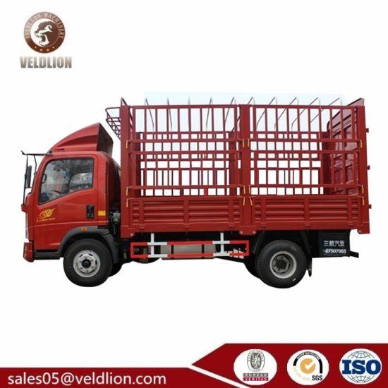HOWO 4ton Mini Cargo Truck, 4X4 Mini Truck, Cheap 4 Ton Box Trucks, 4t Van Box Truck