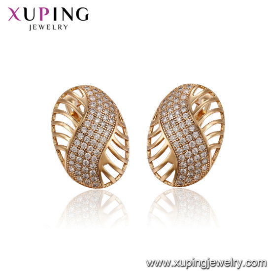 Fashion Gold Plated Jewelry Earring pictures & photos