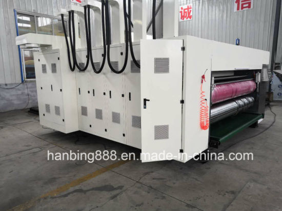 4 Color Roll-Roll Printing Machine for Corrugated Paper Board