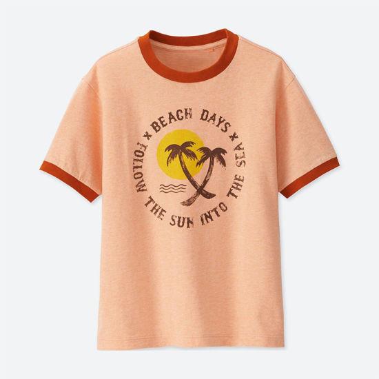 New Design Printed Short Sleeve Children T-Shirt