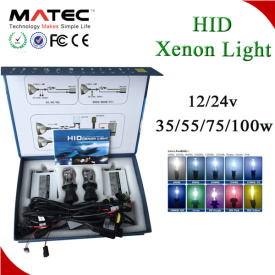Low Power Consunption HID Head Lamp 12V 24V 35W 55W 6000k Xenon HID Ballast  Repair