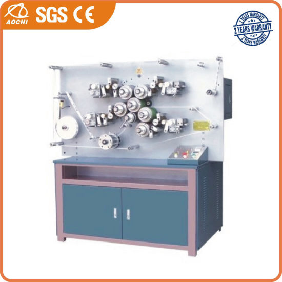 Multi-Color Fabric Label Flexographic Printing Machine