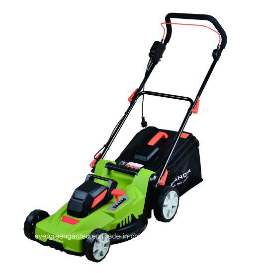 China 1200w Electric Rotary Garden Lawn Mower Grass Cutting Machine