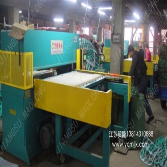 Automatic Beach Shoes Rubber Die Cutting Press Machine 150t