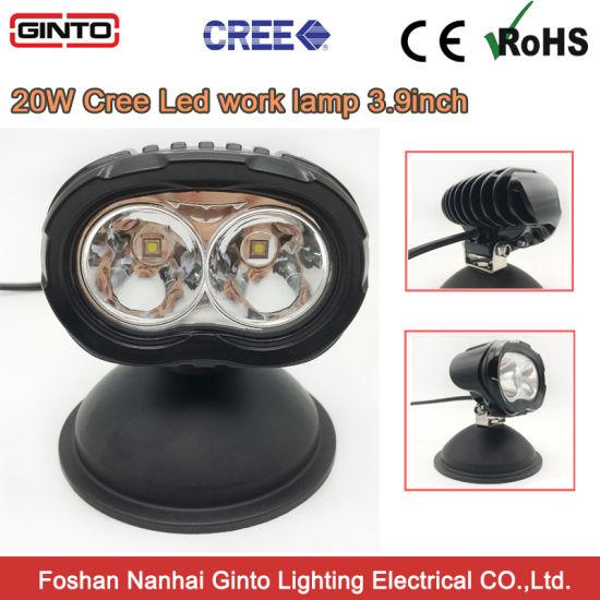 """CREE LED 3.9"""" 20W Offroad 4X4 Truck Marine Spot Work Light Fog Lamp"""
