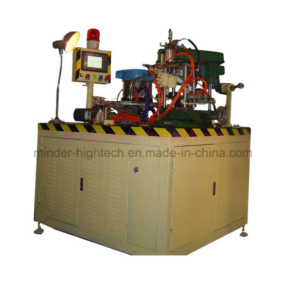 Industrial Automatic Electric Motor or Generator Electro-Graphite Carbon Brush Thread Cutting Machine for Electrical Power Tool