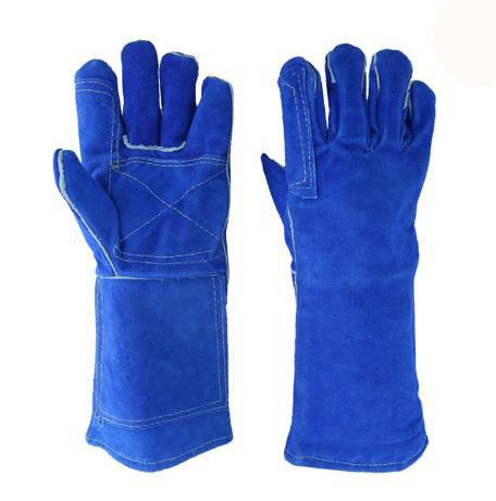 Red Blue Premium Welders Glove
