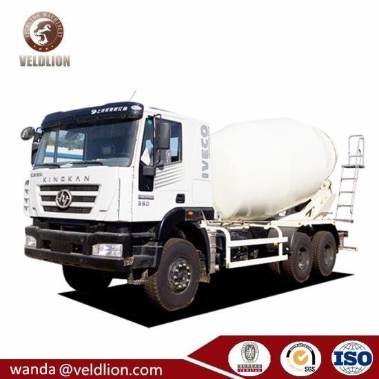 Iveco Hongyan 6X4 14m3-16m3 Self Loading Mobile Concrete Mixer Truck, Cement Mixer Truck