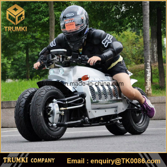 2019 New 60V 20ah Lithium Battery Factory Newest Dodge Tomahawk Gasoline Racing off Road Electric Motorcycle