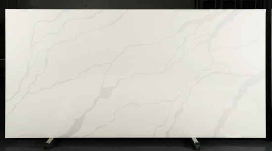 Best Selling Engineered Artificial Stone White Calacatta Quartz Slab