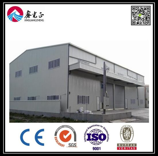 Cheap and Elegent Prefabricated Steel Frame Warehouse Building