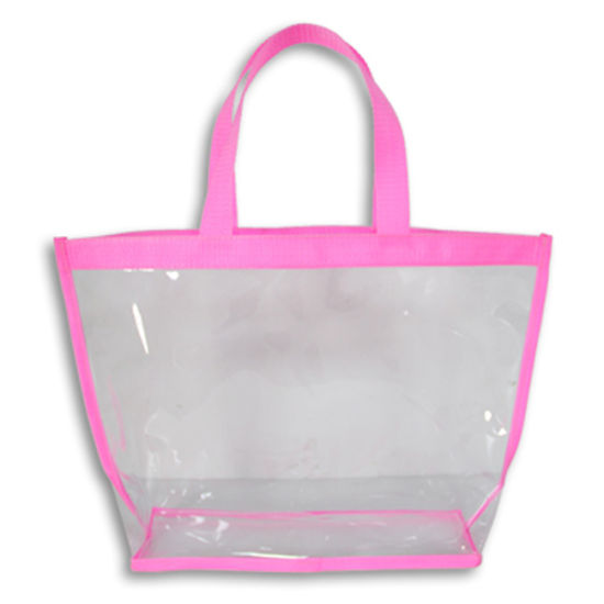 Clear PVC Lady Bags for Promotion, Beach and Shopping, Cosmetic pictures & photos