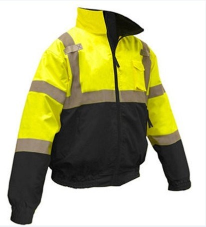 Wholesale Custom Breathable Hi Vis Bomber Jacket
