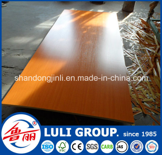 Plain Color and Wood Color Melamine Plywood pictures & photos