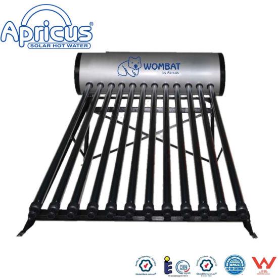 Non-Pressure Unpressurized Evacuated Tubes Solar Heating Solar Water Heater