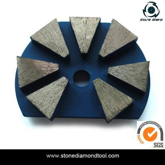 China Granite/ Marble Stone Floor Metal Concrete Grinding Diamond Disc