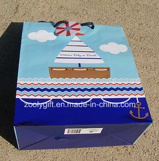 Customize Printing Shopping Paper Gift Bags pictures & photos