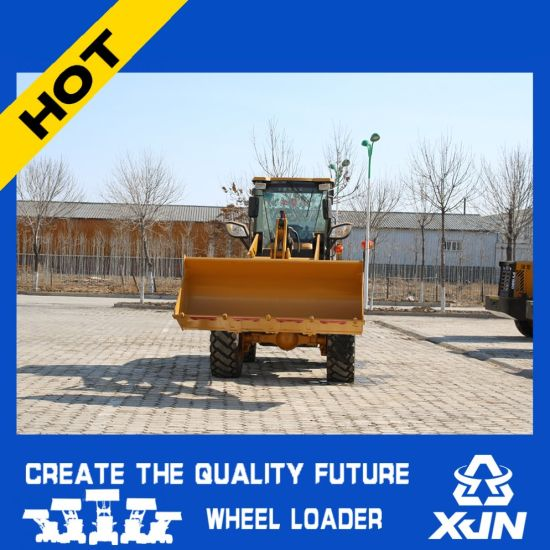 Ce Certificated Agricultural Mini Wheel Loader 2tons Zl33 pictures & photos